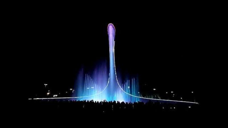 Поющие фонтаны в Олимпийском парке Пробирает до мурашек