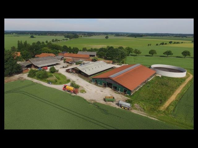 Ein kuhles Leben - Milchviehbetrieb in Niedersachsen - Kühe melken - füttern / Kälber tränken