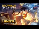 SMITE - New Skin for Geb - Snowman