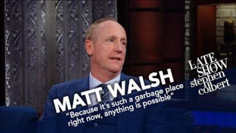 Matt Walsh Compares The Dysfunction Of Washington In 'Veep' To Reality