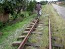 Bicycle road railway The Brazilian Rail Bike 1 Bicicleta rodoferroviária 鉄道自転車