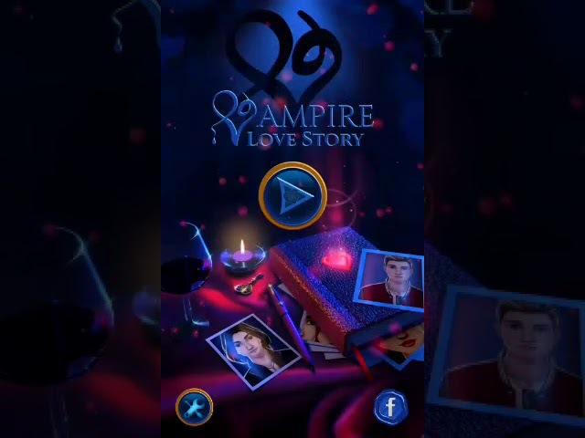 Первый взгляд Новелла про вампиров [wampire love story games]