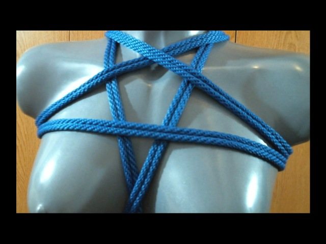 Rope Bondage Tutorial: Pentagram Chest Harness