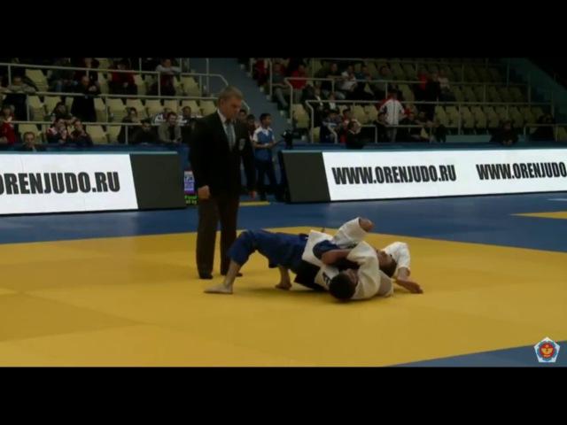 BOQIEV Sukhrob (TJK) vs ABULADZE Yago (RUS) 60 kg. Final. Judo Orenburg 2017