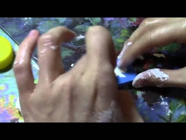 Скрапбукинг Мастер-класс: Как я делаю холодный фарфор без термической обработки!