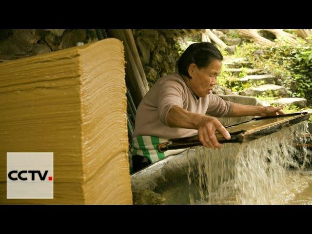 Мастерство ремесленников Серия 15 Превращение сандалового дерева в бумагу