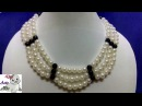 27 How to Make Pearl Beaded Necklace || Diy || Jewellery Making
