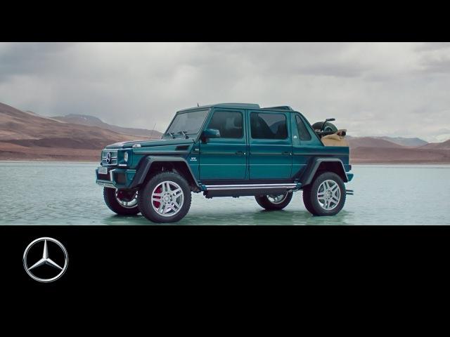 Mercedes совместно с Maybach выпустили лакшери версию Gelandewagen G650 Landaulet Мир увидит всего 99 моделей этого автомобиля Под капотом установлен V12 biturboмощностью 630 л с с приводом на все 4 колеса