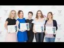 Отзывы учеников о курсе макияжа Ульяны Старобинской и вручение сертификатов 23.07.17
