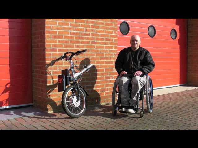 TEAM HYBRID HANDCYCLES Viper Power Cycle Introduction Docking Procedure