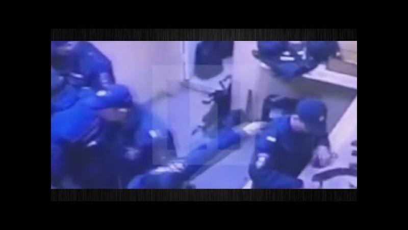 Видеонаблюдения в отделе !Росгвардии полиции,пытались скрыть убийство сотрудни...