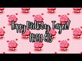 Gratulerer med fodselsdagen, Tarjei! // Happy Birthday, Tarjei! From CIS (Russia, Ukraine & etc.)
