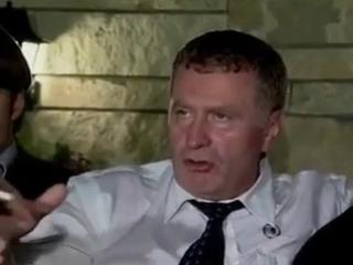 Жириновский о Буше, не сметь стрелять по Багдаду, не надо шутить с войной 2002 - 240p