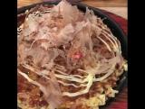Okonomiyaki, l'omelette qui te dit bonjour chez #A... Париж 27.05.2017