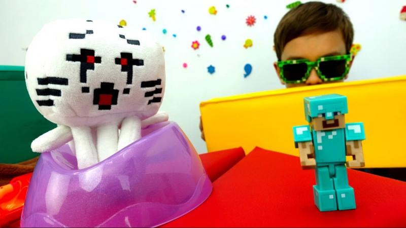 Майнкрафт видео: экзамен для Стива! Как хорошо ты знаешь Minecraft? Мультики Майнкрафт » Freewka.com - Смотреть онлайн в хорощем качестве