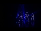 VisualTRON Tron LED Dance and Laser Show by Skeleton Dance Crew