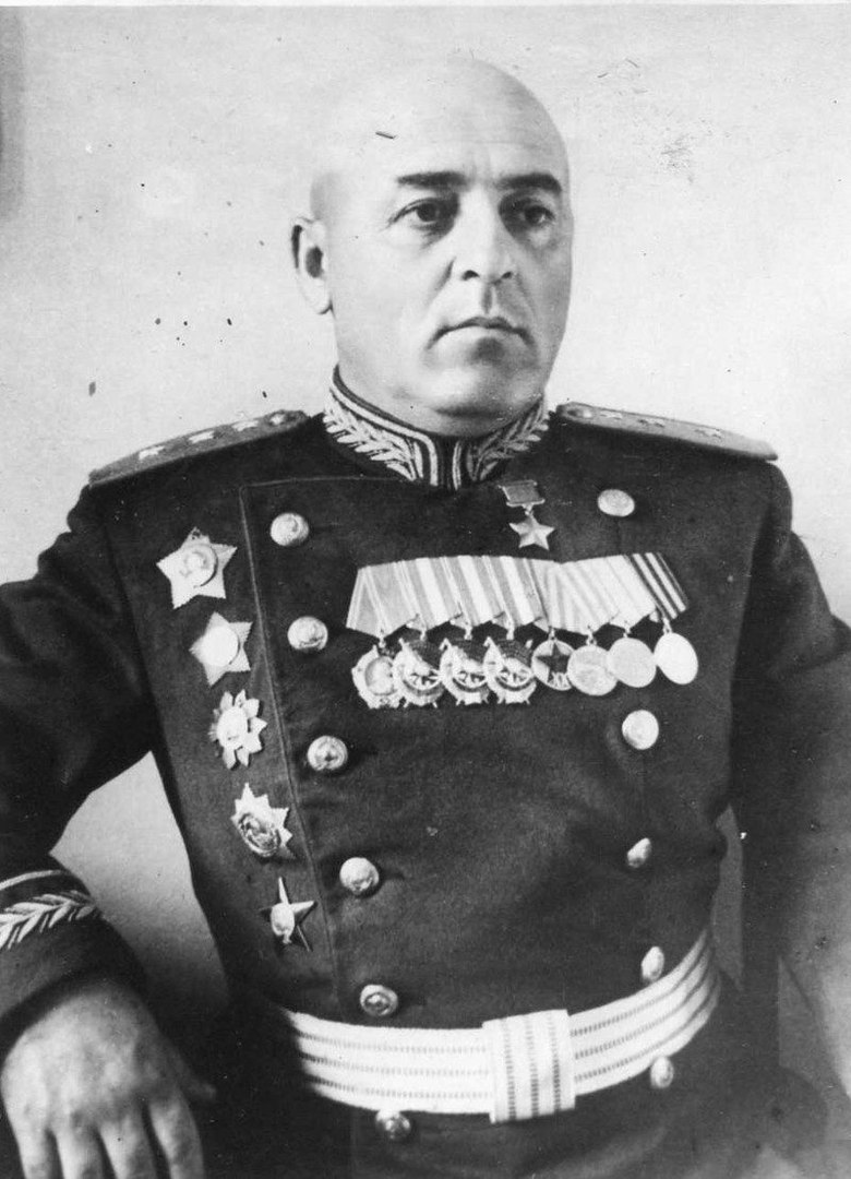 Полковник Порфирий Георгиевич Чанчибадзе