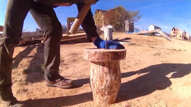 На все руки мастер 22, идеи для дачи,стул для дачи, скамейка, из подручных средств.mp4