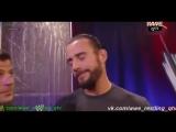 WWE QTVCамц Савцв.PPV.No Way Out2012SegmentСм Панк Ей Джей Ли ответил на вопросСM Punk and Aj Leevk.comwwe_restling