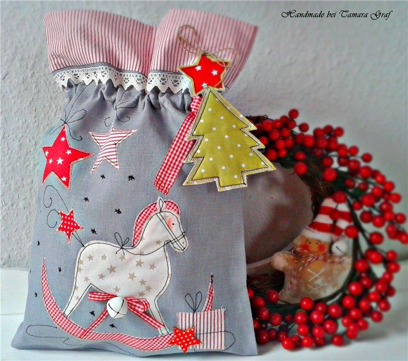 нновогодние мешки для подарков