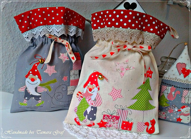 мешки для подарков