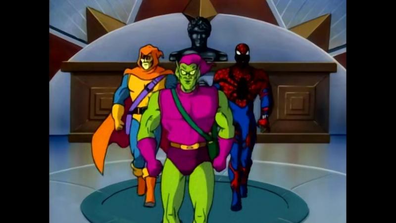 Человек паук 1994 1998 5 сезон 12 серия Паучьи войны Часть 1 Как я ненавижу клонов