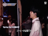 171016 BTS @ M!Countdown Japan Backstage