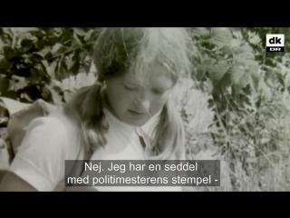 Девушка из Дании показывает прием самообороны журналисту 1969 год| History Porn