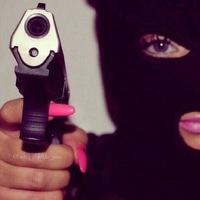 Черный пистолет Представляет 18+