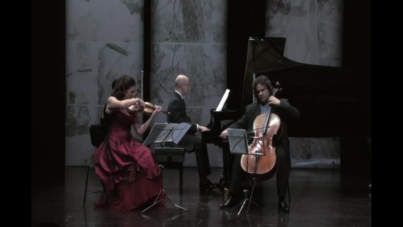 Haydn - Piano Trio in G major (1st Mvt) - Samouil, Grimm, Pinto-Ribeiro (1)