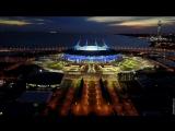 St. Petersburg aerial timelapse