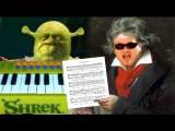 All Star but autotuned to Beethoven's Moonlight Sonata
