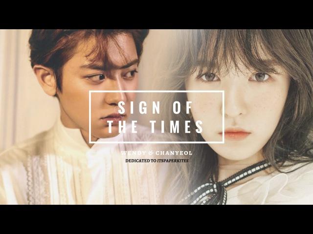 Wendy Chanyeol [WenYeol] ✧ Sign Of The Times