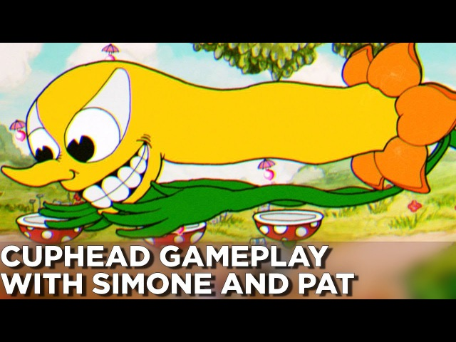 CUPHEAD GAMEPLAY: Co-op, Platforming, and More! - Pat and Simone