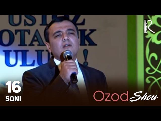 MUVAD VIDEO - Ozod SHOU 16-soni | Озод ШОУ 16-сони
