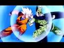 Goku VS Perfect Cell [AMV]-Never Back Down