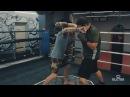 Силовой боковой удар в Боксе с использованием нырка от Андрея Басынина