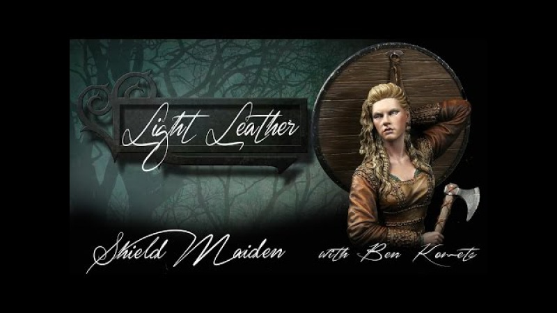 Nuts Planet Shield Maiden - Part 6 - Painting Light Leather