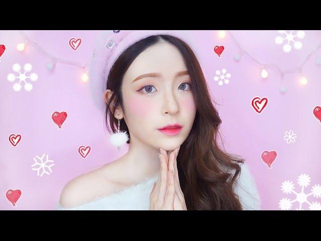 반짝반짝 눈꽃 메이크업 ❄️ Bling Bling snow angel makeup 로즈하 ROSEHA