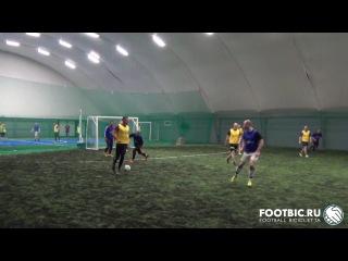 FOOTBIC.RU. Видеообзор 23.01.2017 (Метро Марьина Роща). Любительский футбол
