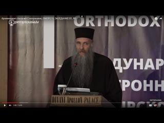Крупицы православного пастырского опыта двух десятилетий в Сети - Архим. Антоний Стильянакис