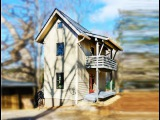 600 Sq Ft Tiny Two Story Cottage in Asheville, North Carolina Adorable Small House Design Ideas