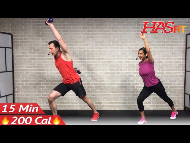 HASfit - Standing Abs Workout   Тренировка живота в положении стоя