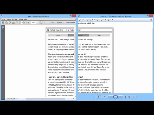 Convertir/Transformer un pdf 📁 en une image (FreeOCR)