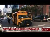 Терракт в Нью Йорке  (тактика наезда на пешеходов-как  на баранов(англ.яз)