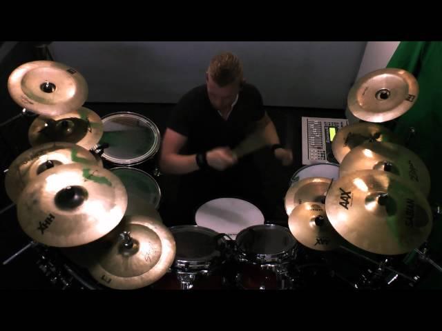 Sabaton Gott Mit Uns Drumcover by Tim Zuidberg