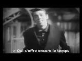 Jacques Brel - Une valse a mille temps (with lyrics for karaoke)