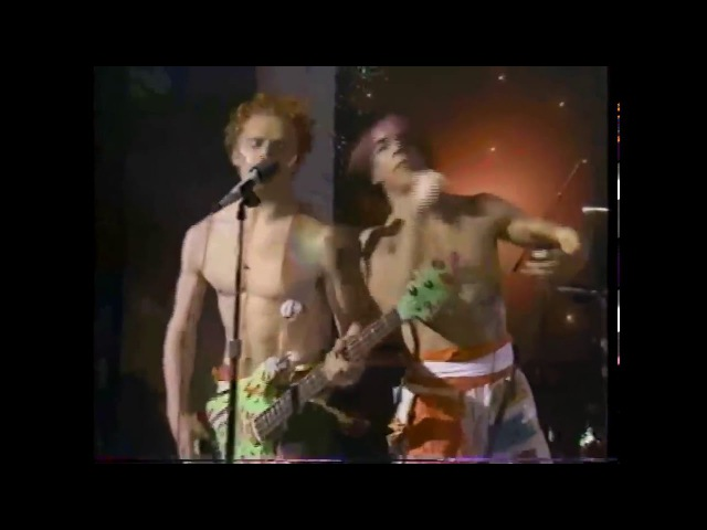 Red Hot Chili Peppers First LIVE show on TV in 1984