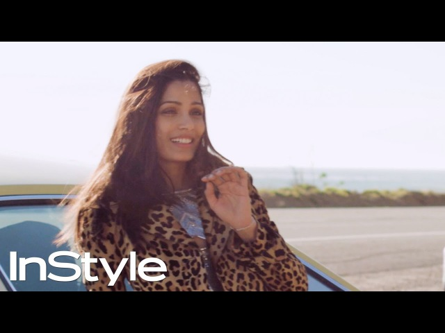 How To Drive Your Life Tips From Freida Pinto   InStyle