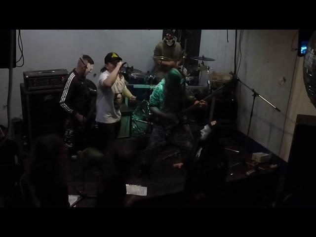 St. Vagina Dentata feat Илич (Gadsden Snakes) - Москва Скотобаза (Лихоборн 28.10.2017)